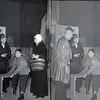 T0017  Samenwerkingsverband tussen de RK  toneelgroepen: St. Pancratius en St. Caecilia, De Kruisweg langs de Stad, 14-03-1948<br /> <br /> 01Alfons de Zwart<br /> 02Bep Vrijburg<br /> 03Alex de Greef<br /> 04Emmy van Reisen