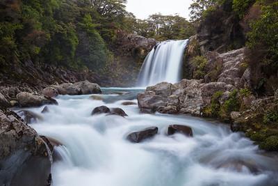 Tawhai Falls, Wairere Stream. Tongariro National Park. Central North Island