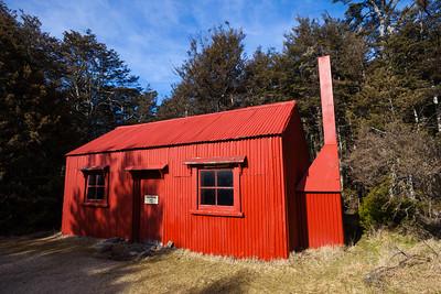 Historic Old Waihohunu Hut, Tongariro National Park, Tongariro Northern Circuit Great Walk