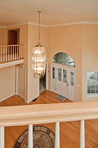 foyer from landing upstairs