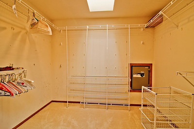 bedroom master walk in closet