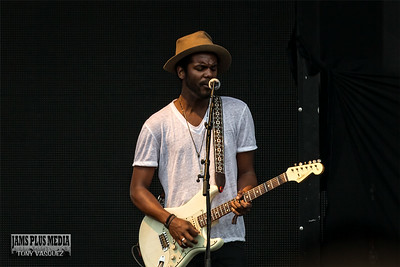 Gary Clark Jr. at the Mast Stage