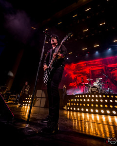 August 16, 2017, ​Green Day Revolution Radio Tour at the Klipsch Music Center in Indianapolis, Indiana.