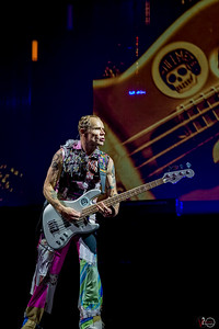 May 18, 2017 Red Hot Chili Peppers at Bankers Life Fieldhouse in Indianapolis, Indiana.