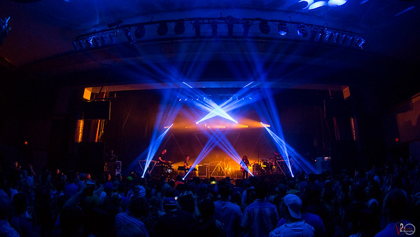 July 10, 2018 STS9 in the Egyptian Room at Old National Centre. Photo by Tony Vasquez.