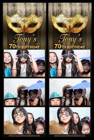 Tony's 70th Birthday