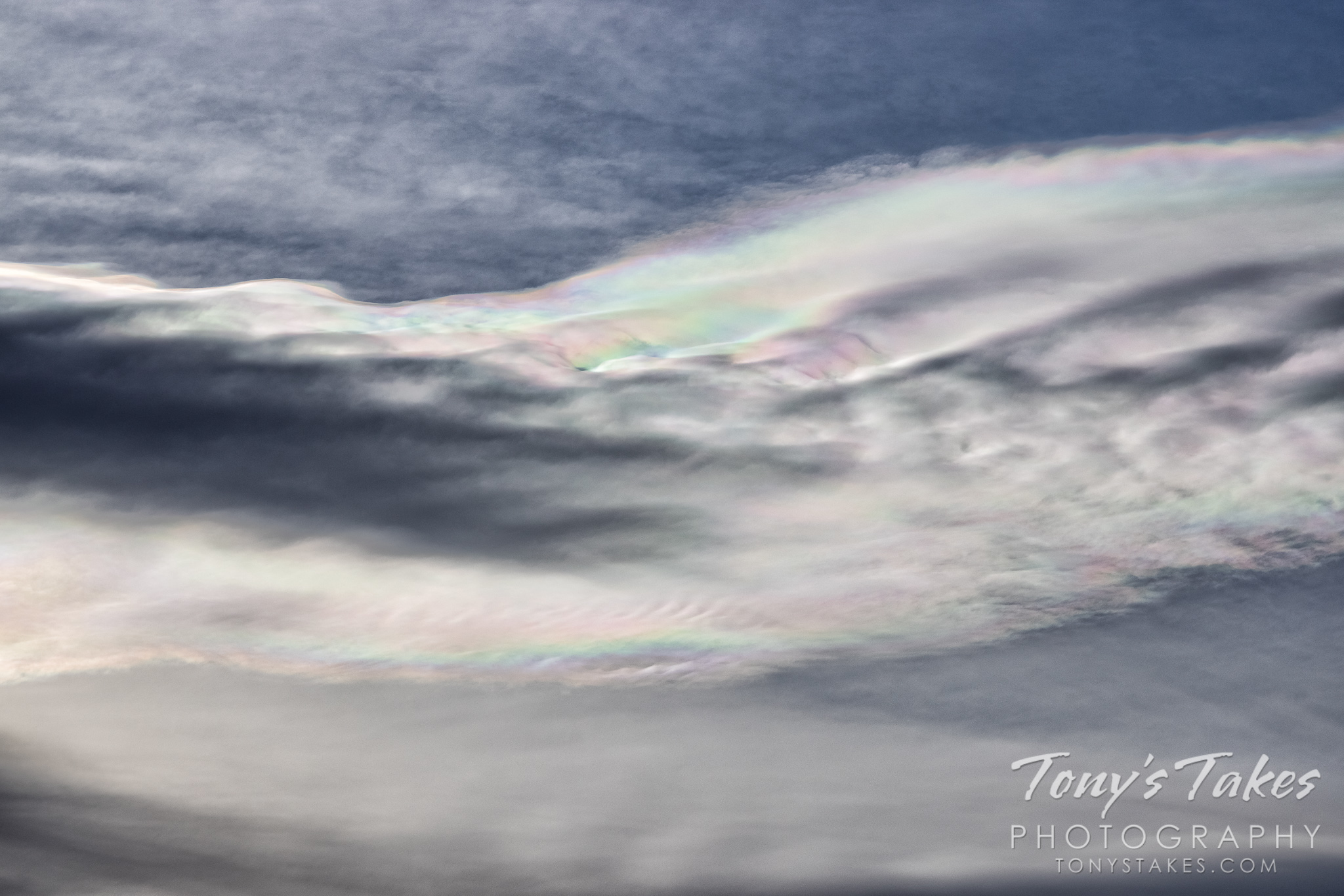 """""""Me day"""" brings amazing cloud iridescence"""