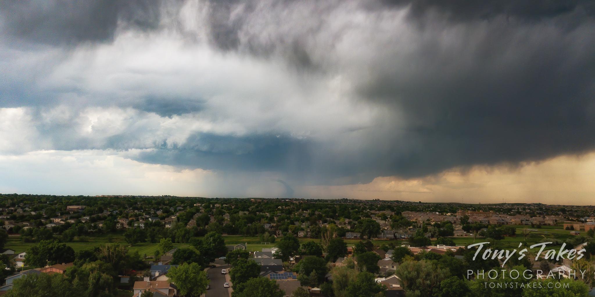 Tornado strikes the northern Colorado Front Range