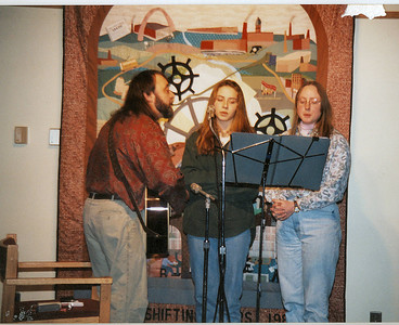 Canal Street Coffee House - 1995  with Jessie and Judy