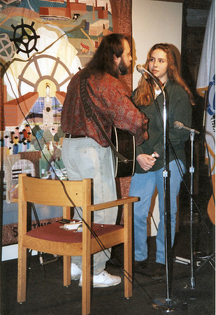 Canal Street Coffee House - 1995 with Jessie