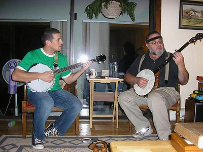 Christmas 2005 - Dueling Banjos with Jeremy