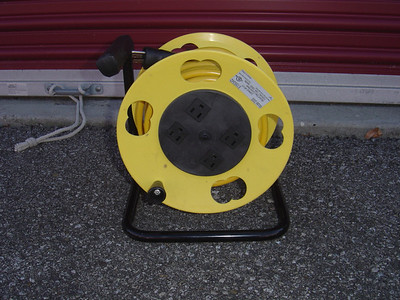 Heavy duty extension cord (15 Amp).  Typically this is needed if you are using a small furnace during the winter and need to plug directly into the CG post.