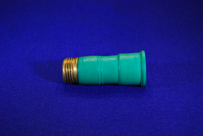"This is known as a ""Water Thief"".  You connect the brass end to a hose and then push the green end over a water tap.  It can be a tap that doesn't have a male hose connection or one whose thread has been damaged."