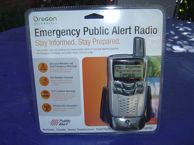 If you live in a area prone to tornadoes  and severe thunder storms I would recomend getting a NOAA weather reader such as the Oregon scientific Weather radio WR 602