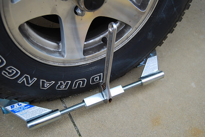 The best wheel chock on the market is BAL single tire locking chock. This chock will make your PUP very secure.