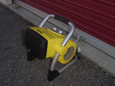 Stanley heater that is used to suplement the heat from the furnace.