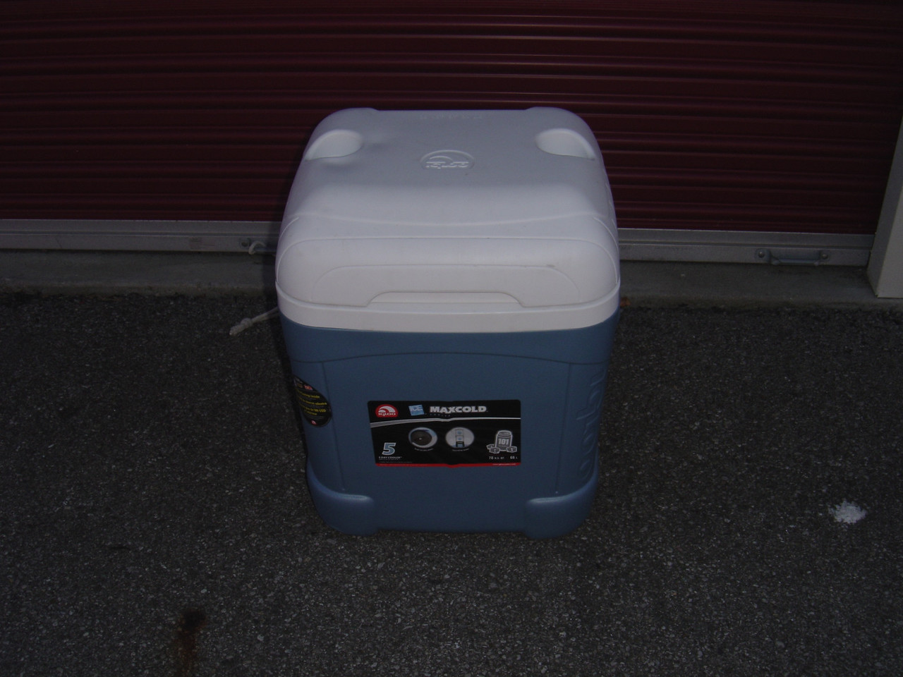 Five day cooler.  Comes in handy on long trips or if you don't want to open your PUP to store items before a trip.