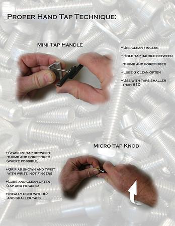 Mini/Micro Hand Tapping Technique