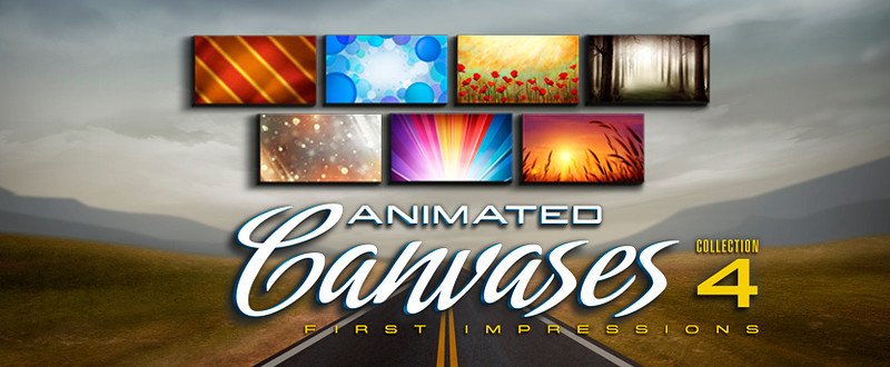 Animated Canvases Collection 4