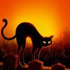 Cat Stretch_Portrait
