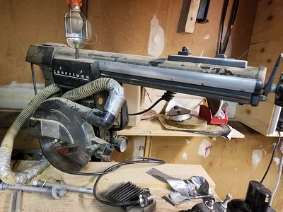 Better view of 1978 Craftsman Radial Arm Saw. (alt view 1)