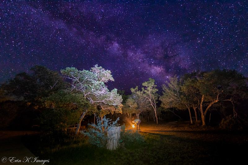 Milky Way Campfire