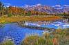 Schwabacher's Landing, Grand Teton NP  # 125-189HDR