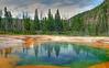 Emerald Pool, Yellowstone # 108-66HDR