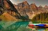 """""""Seduction""""  Lake Moraine, Banff National Park  #216-181HDR"""