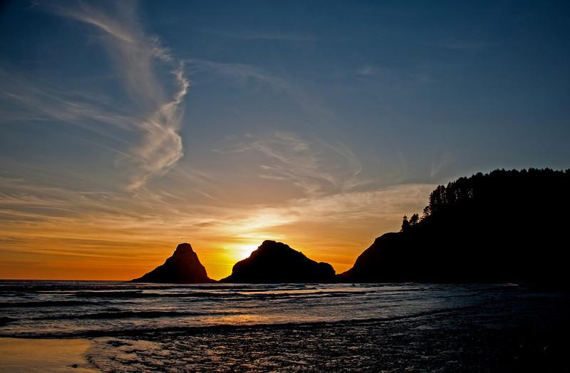 Sunset-Heceta # junestars   1ed1