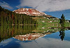 Beartooth Reflection, Montana # 162-028
