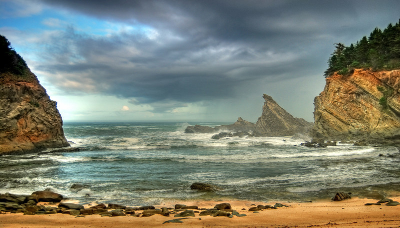 Simpson Beach, Oregon # 196-050HDR