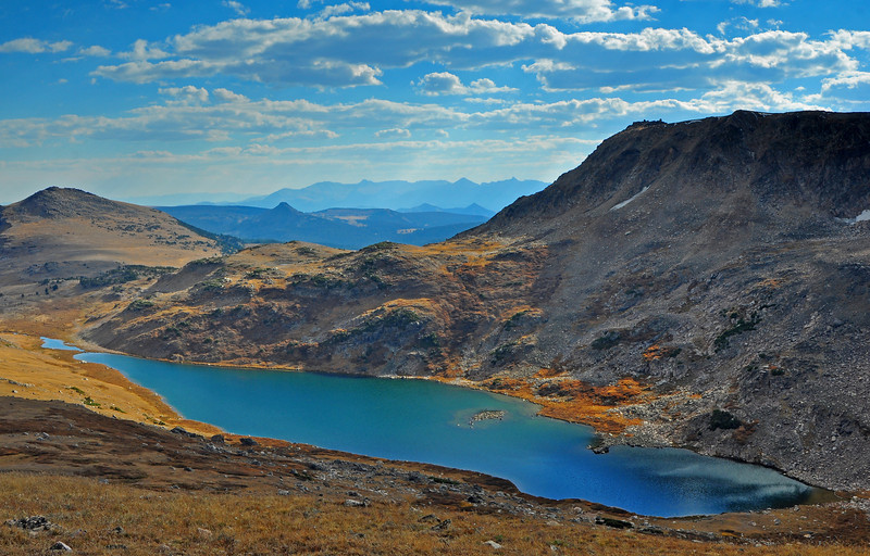Gardner Lake, Beartooth Pass  # 119-269