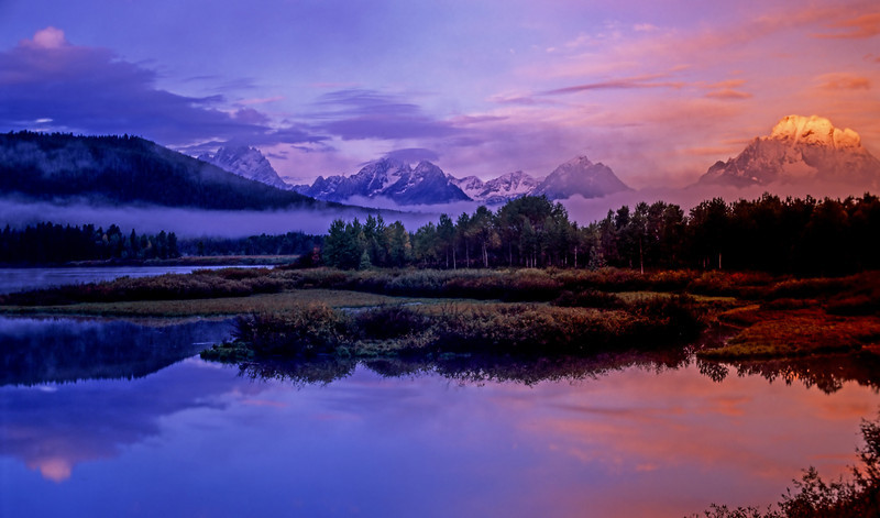 Oxbow Bend, Grand Teton National Park  # 8ed1