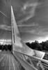 Sundial Bridge # 45-038HDR-B&W