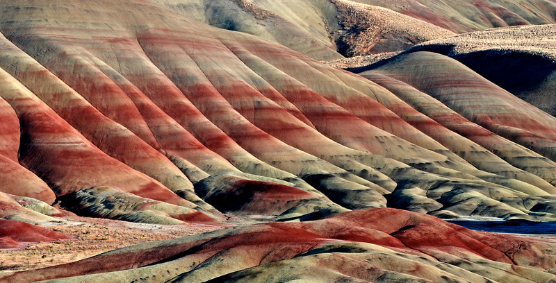 Painted Hills, John Day Fossil Beds, Oregon # 188-049ed2
