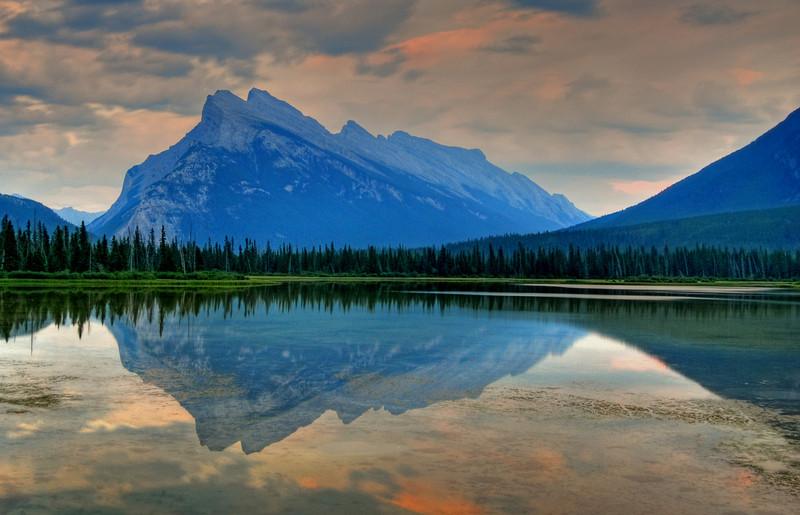 Banff, Alberta  # 154-181HDRed2