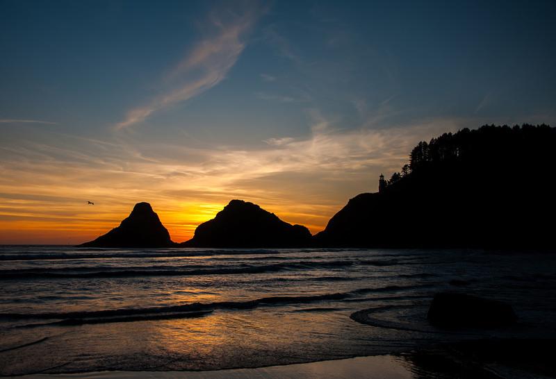 Sunset-Heceta # junestars  7ed1