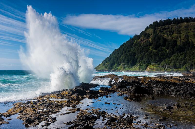 Cape Perpetua, Oregon.