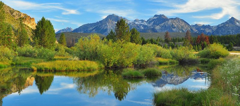 Stanley Creek, Sawtooth NRA  # 158-186P