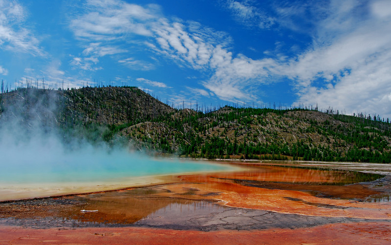 Grand Prismatic Spring, Yellowstone   # 161-0075ed5