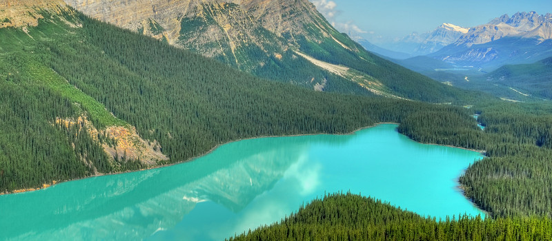 Peyto Lake, Banff NP  # 137-182HDRed3