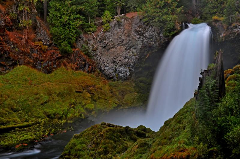 Sahalie Falls, Oregon  # 18-055