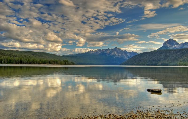 Redfish Lake, Sawtooth NRA  # 335-185HDR