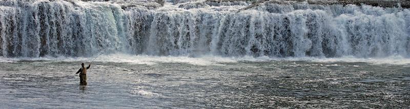 Cave Falls, Yellowstone, Idaho  # 201-255P