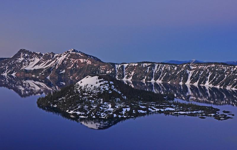 Crater Lake National Park, Oregon # 234-041