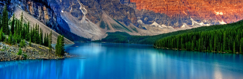 Moraine Lake, Banff  # 323-182P