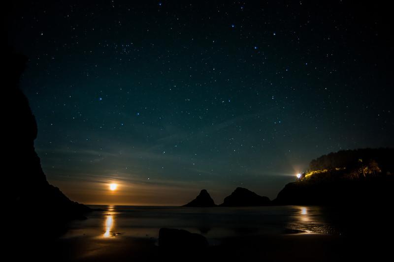 Heceta-Moonset  # junestars   17ed1