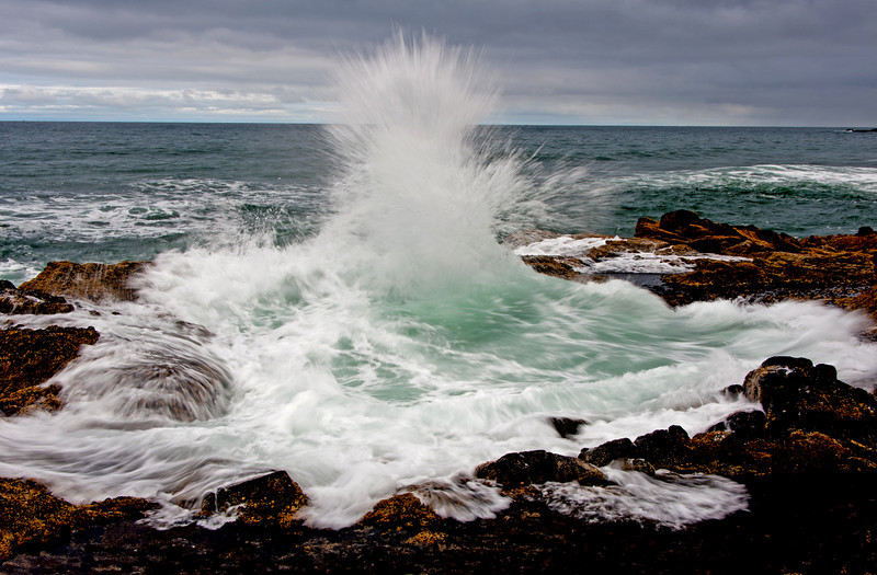 """Thor's Well"", Cape Perpetua, Oregon # 39ed1"