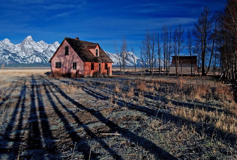Mormon Row, Tetons # 70-063